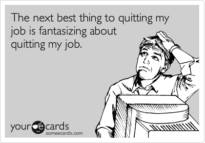 people quitting their jobs