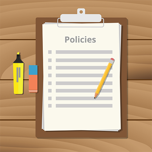 Importance of policies and procedures.